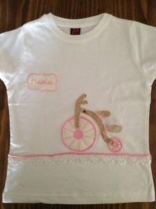 Camiseta bici antigua
