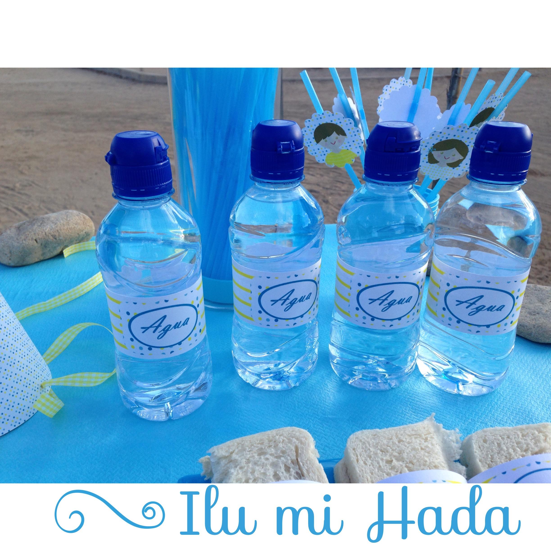 4. Botellas de agua