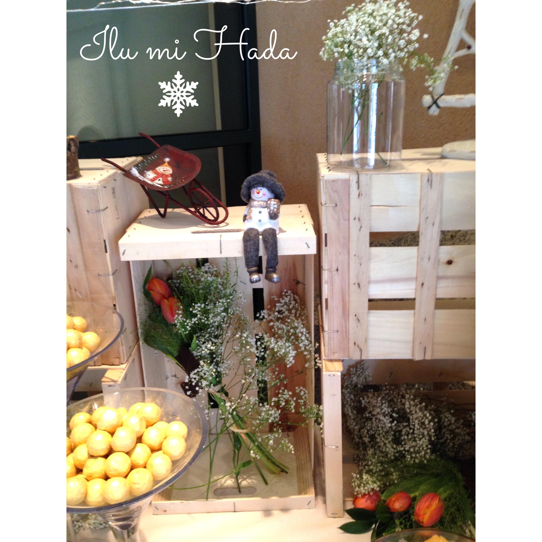 25. Detalle flores mesa de dulces