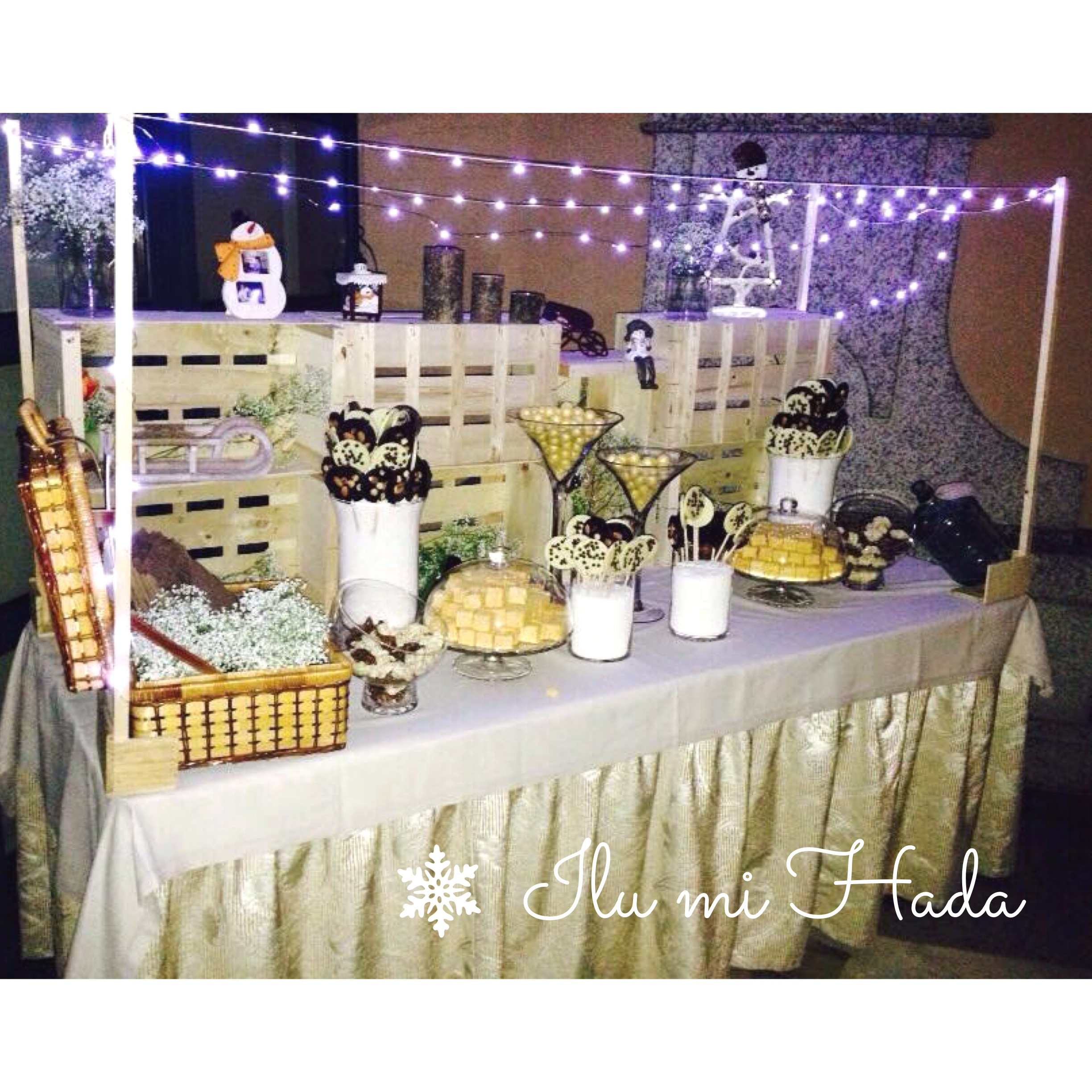 The gallery for ana patricia boda for Mesa de dulces para boda