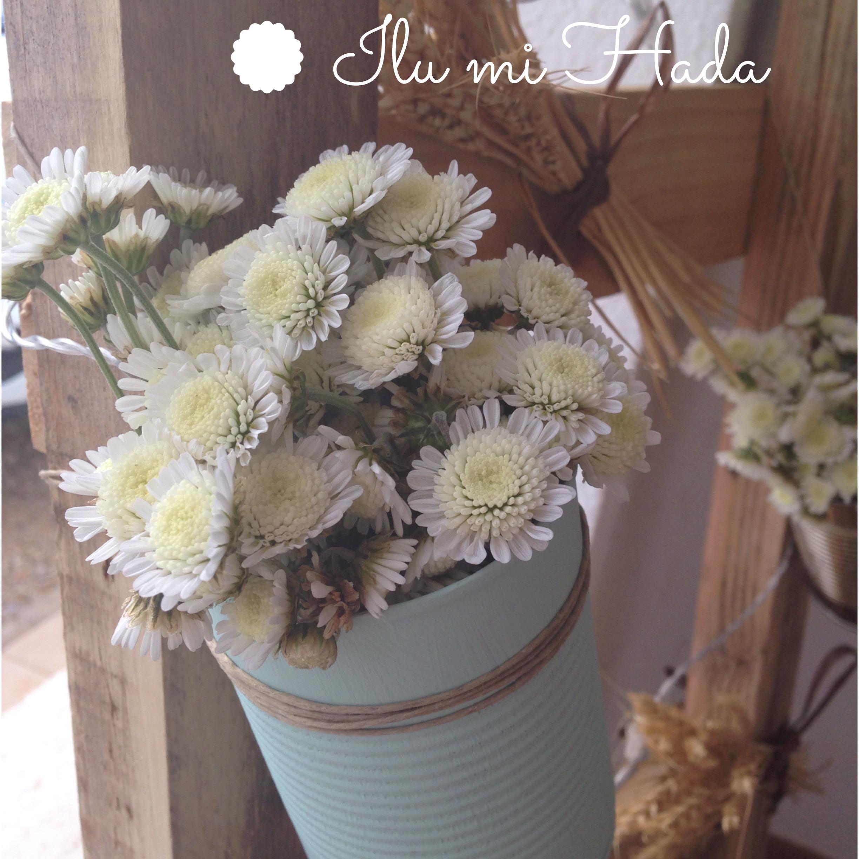 4. Flores en lata