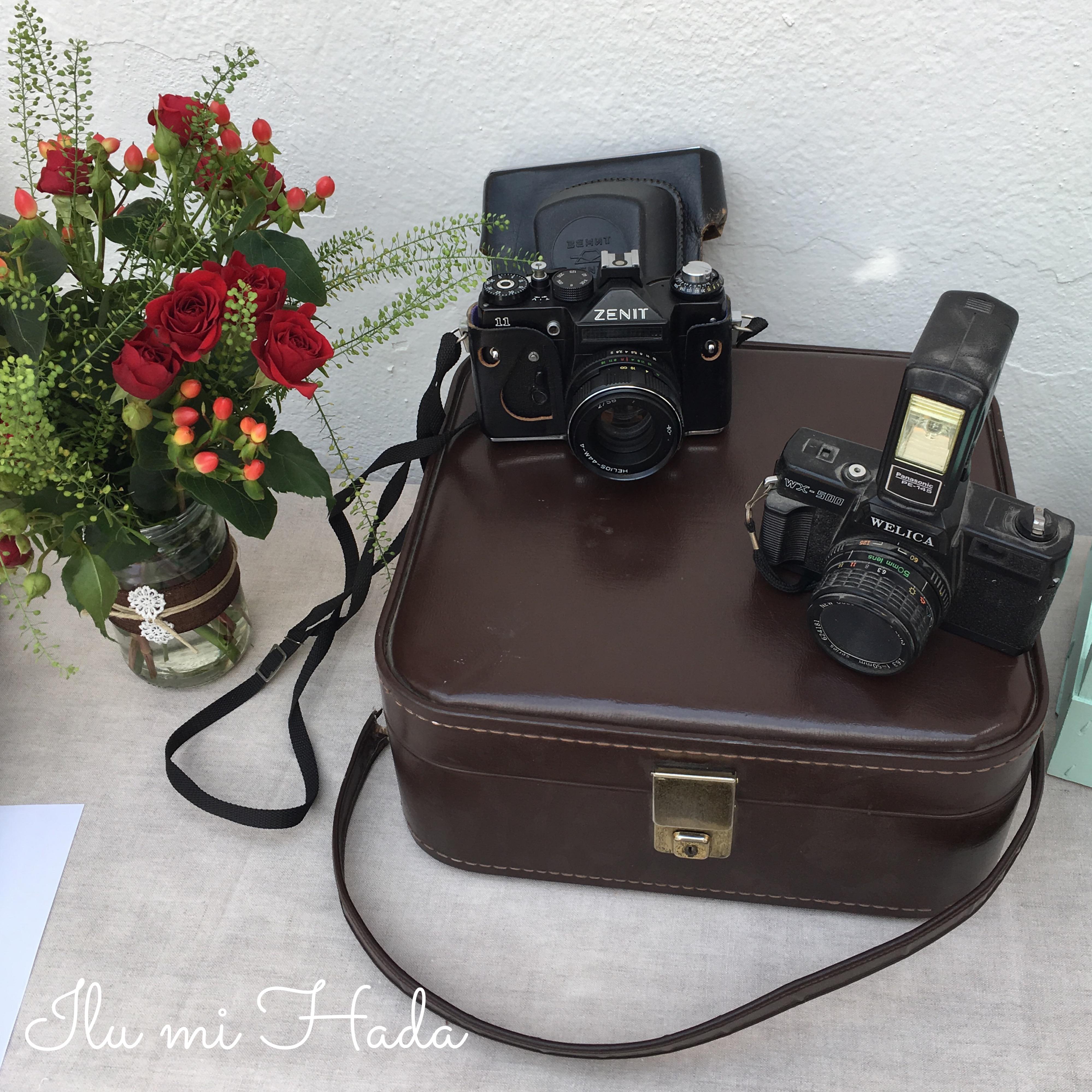 11. Detalle cámaras fotos mesa dulce
