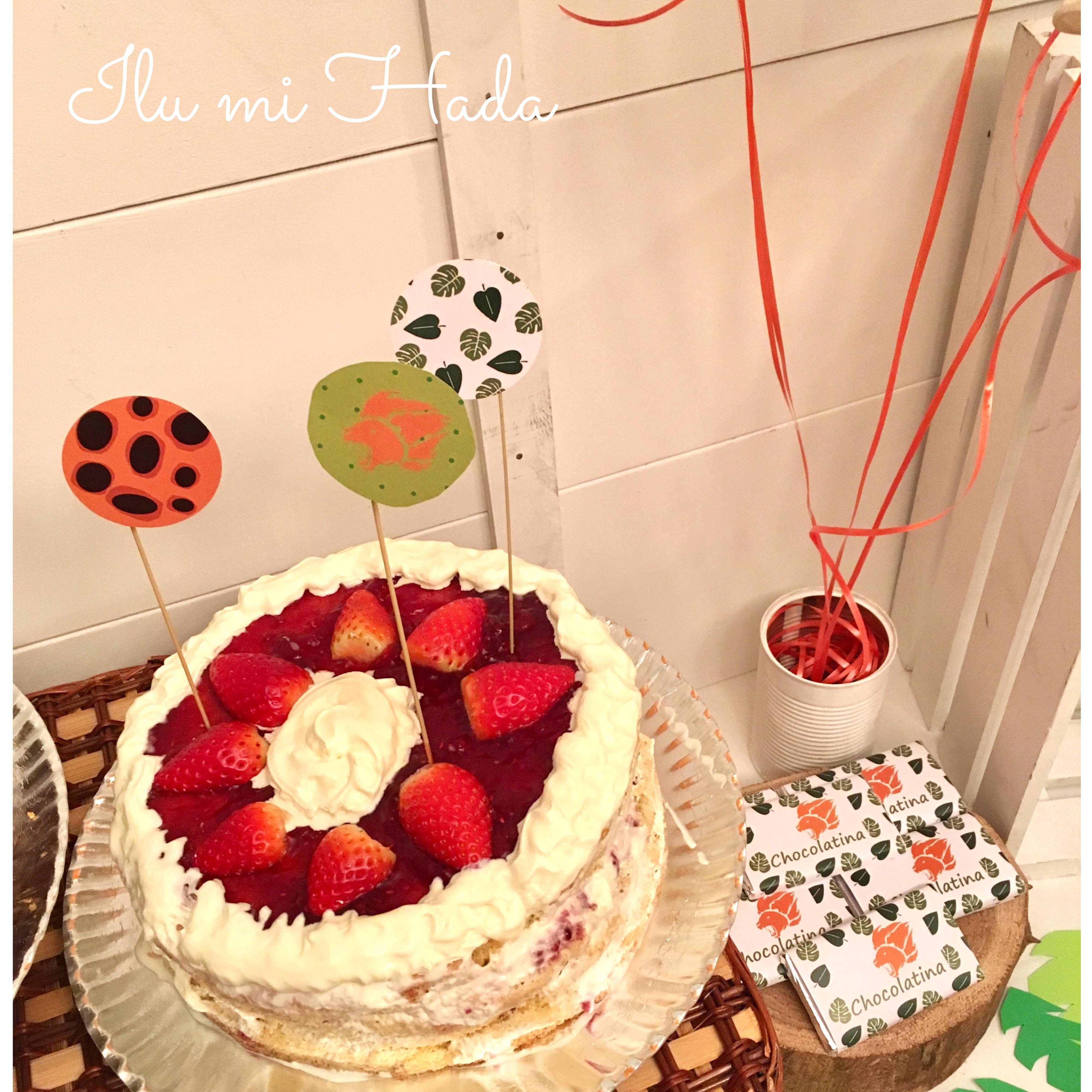 12. Tarta de fresa