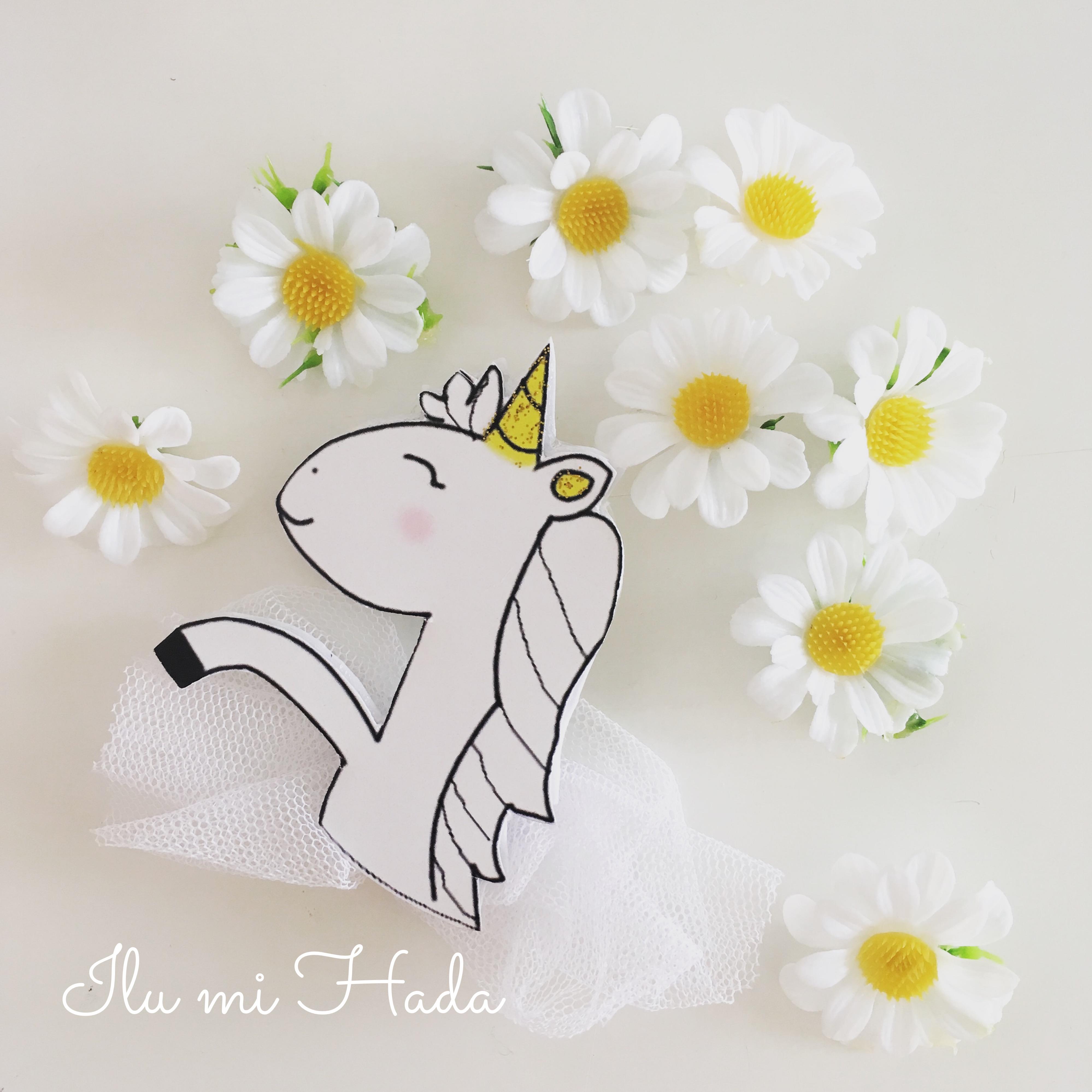 15. Broche unicornio