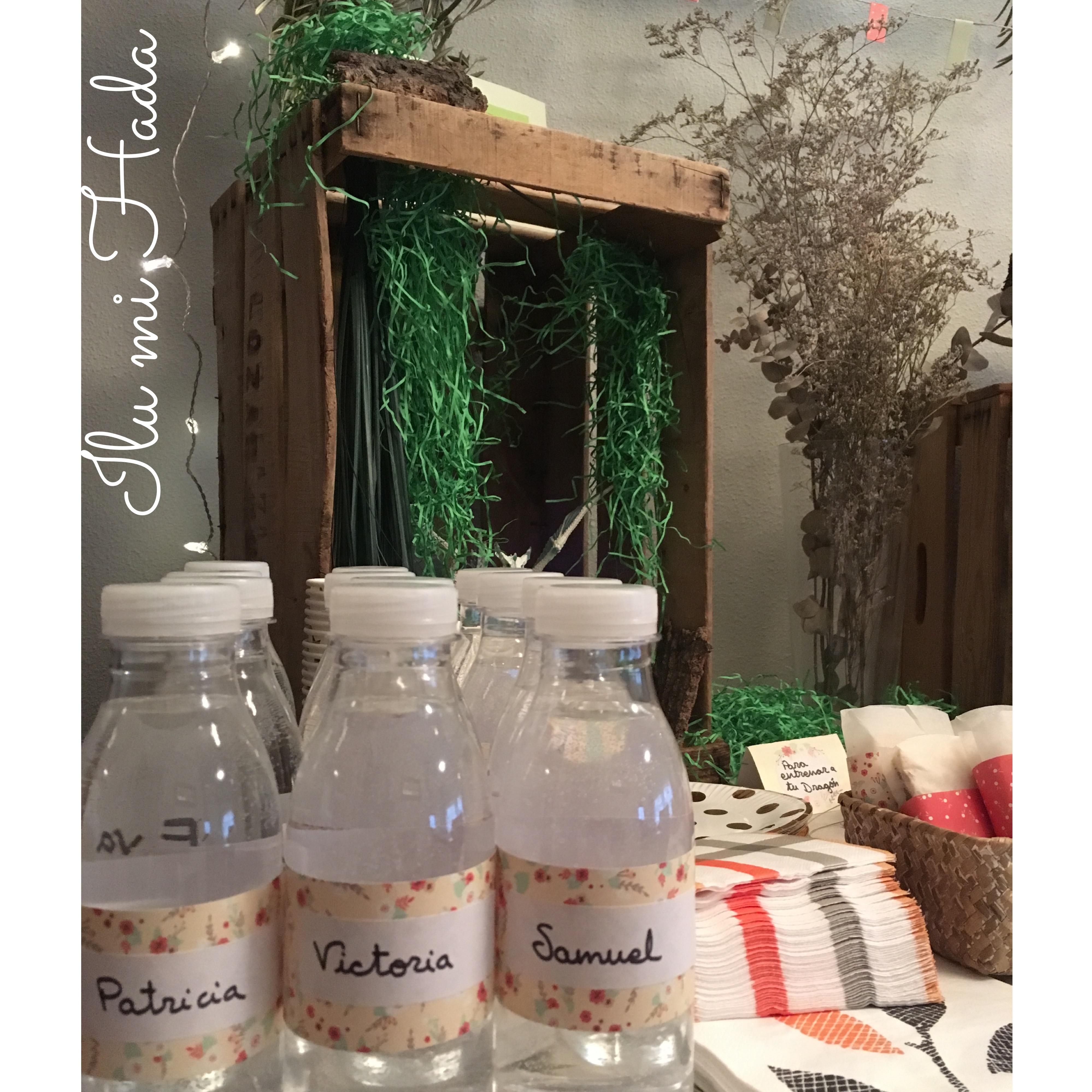 5. Botellas de agua